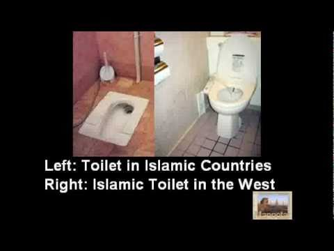 Toilet Of Wc Etiquette.Islamic Toilet Etiquette