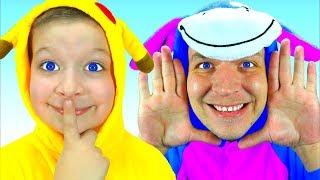 Peek A Boo   Canciones Infantiles Peek A Boo Song +More Nursery Rhymes & Kids Songs