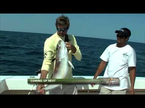 Giant Grouper, Giant Red Snapper with Governor's Rick Perry and Rick Scott on B2B