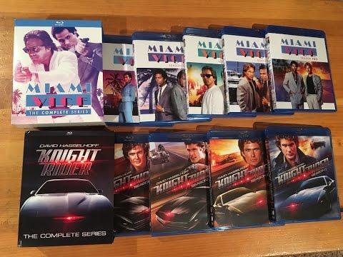 Miami Vice & Knight Rider Blu Ray Complete Series UNBOXING and Review