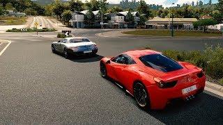 Ferrari Italia 458 640HP vs. Mercedes Benz SLS 654HP | Forza Horizon 3