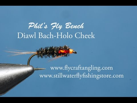 Hot Queue Diawl Bach Trout Fly.