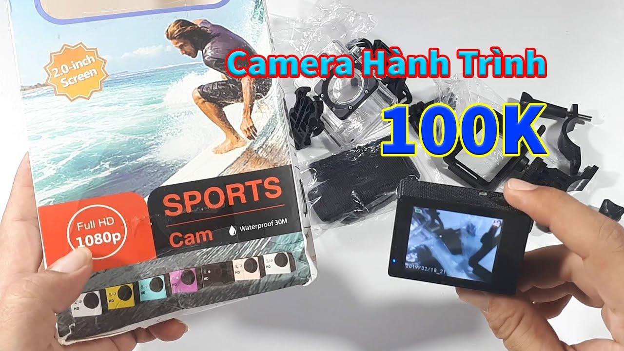 Mở hộp Camera hành trình Sport Cam A9 Giá 120k – Chiếc camera giá rẻ có gì đặc biệt