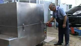 Hot water parts washing machine.mov