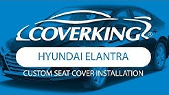 How to Install 2017-2018 Hyundai Elantra SE Sedan Custom Seat Covers