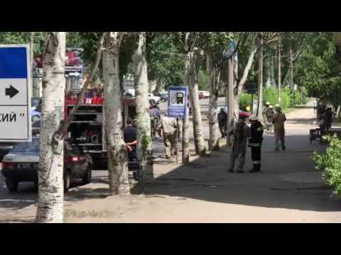 РИА Мелитополь: В Мелитополе спасатели развернули спецоперацию