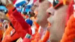 EK 2008 Nederland-Frankrijk: Het Wilhelmus
