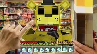 Realistic Minecraft - REALISTIC FNAF FREDDY CHALLENGE IN MINECRAFT !? - (Minecraft Roleplay)
