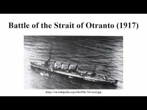 Battle of the Strait of Otranto (1917)