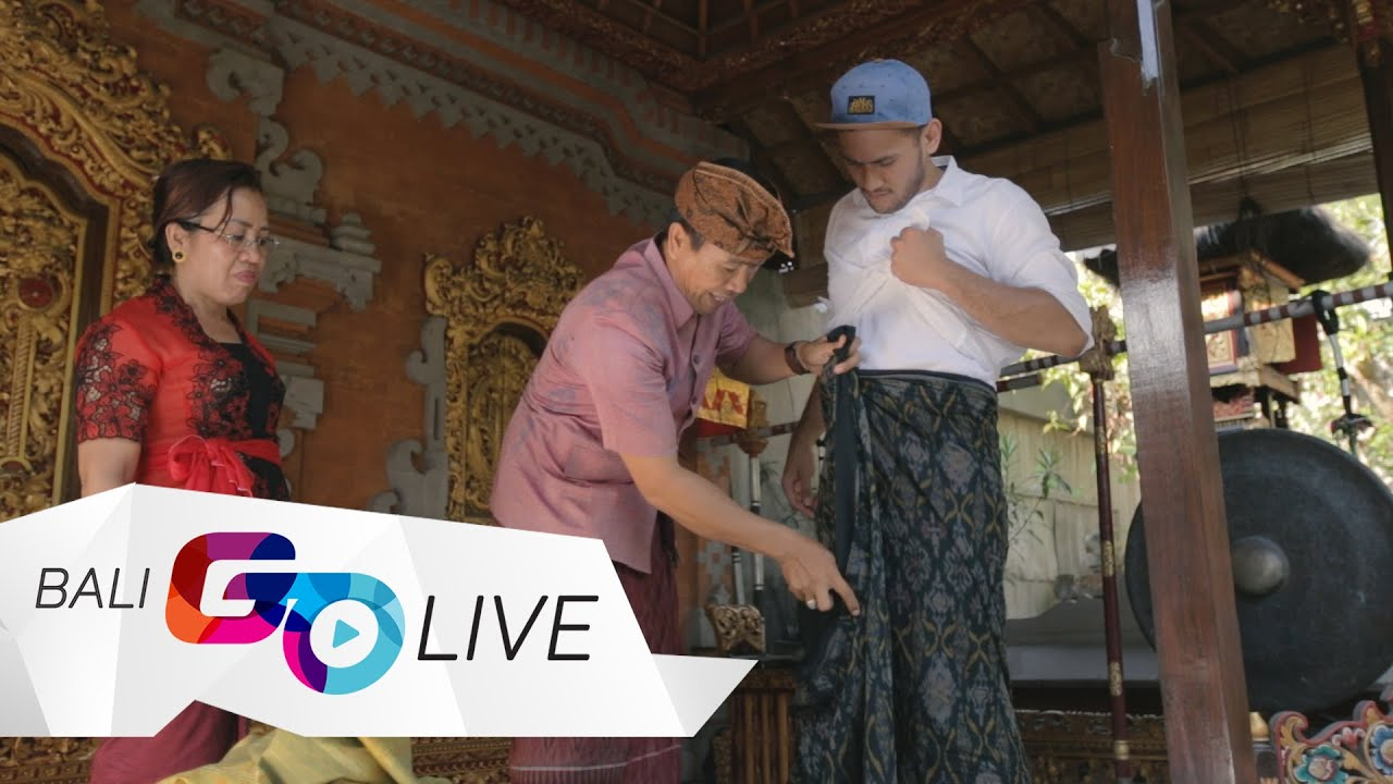 How To Wear Kamen Balinese Traditional Attire Baligoliveculture