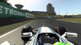 PROлог. Гран при Бразилии 2015. Круг по трассе