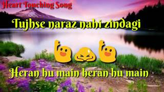 Tujhse naraz nahi zindagi female whatsapp status || Heartly Love Status