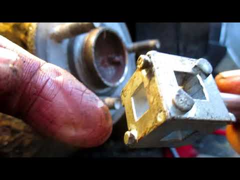 How to retract a brake caliper piston on rear brakes. Rewinding the caliper piston