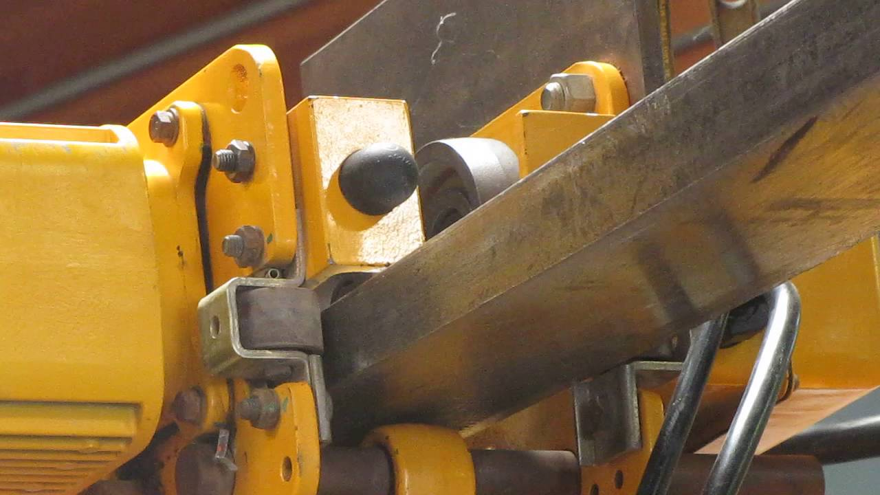 medium resolution of harrington 2 ton electric chain hoist w motorized trolley 14ft min 460v