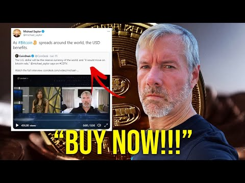 Many Will REGRET Not Buying Now!!! - Michael Saylor   Latest Bitcoin Update