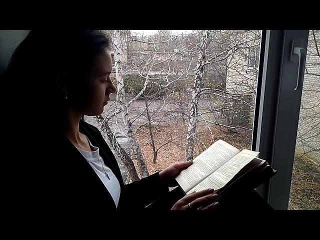 Изображение предпросмотра прочтения – АленаПерепелица читает произведение «Мне грустно на тебя смотреть» С.А.Есенина