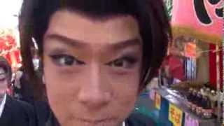 大衆演劇・劇団九州男の座長、大川良太郎のコメントです。 Gekidan Kusu...
