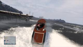 GTA 5 Online - Boats and Crazy Water Fun!