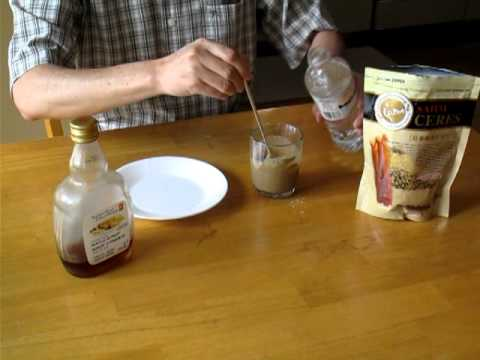How to take Red Ginseng Cereal Powder.MOV
