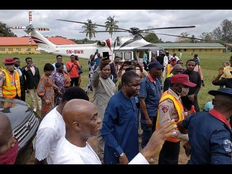 Download Bishop David Oyedepo Recent Surprise Visit To LFC Goshen