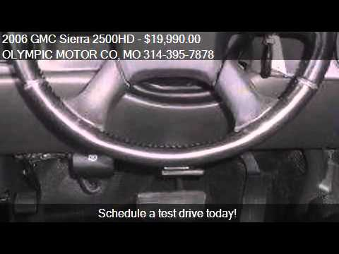 2006 Gmc Sierra 2500hd Sle1 For Sale In Florissant Mo
