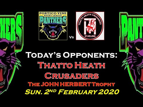 P.V. PANTHERS 13's Vs. Thatto Heath Crusaders - The John Herbert Cup - 2.2.2020
