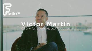 Entrevista a Víctor Martín - CEO & Founder Macco Robotics - Ftalks'20 (KM ZERO Food Innovation Hub)