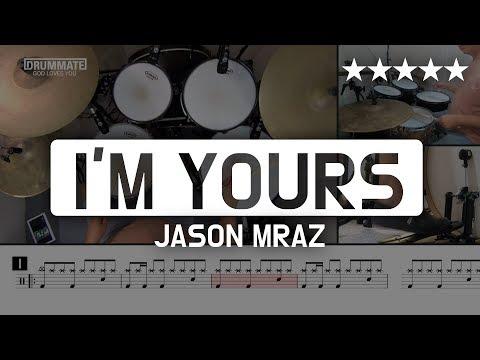 095 | I'm Yours - Jason Mraz (★★★★★) Pop Drum Cover