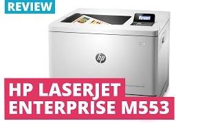 HP Color Laserjet Enterprise M553 Series A4 Colour Laser Printer