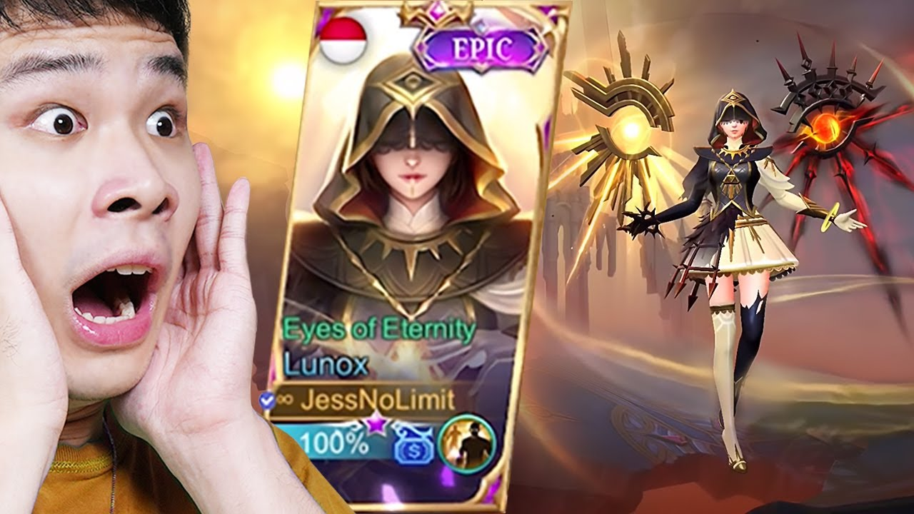Review Skin Terbaru Epic Lunox - Mobile Legends