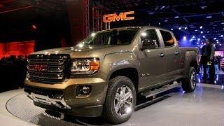 2015 GMC Canyon - 2014 Detroit Auto Show