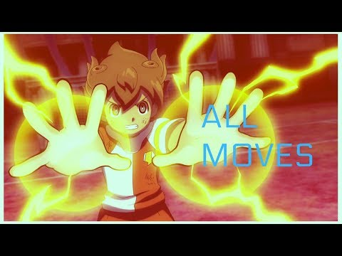 Matsukaze Tenma (Arion Sherwind) All Moves