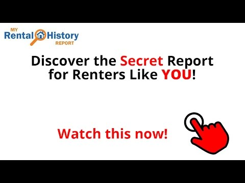 Check YOUR Rental History Report & Eviction Records