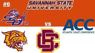 NCAA Football 06 FCS Dynasty - Week 10 Game 1 - #6 Savannah State vs Bethune-Cookman - ACC Game