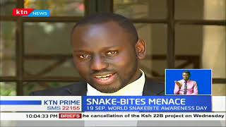 1000 Kenyans die of snake bites yearly with highest cases on Baringo,Kitui and West Pokot