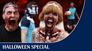 SPURS vs ZOMBIES | Halloween 2016 with Walker, N