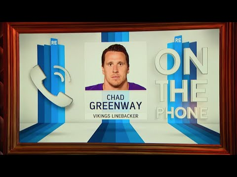 Vikings LB Chad Greenway Calls In to The RE Show - 12/2/15