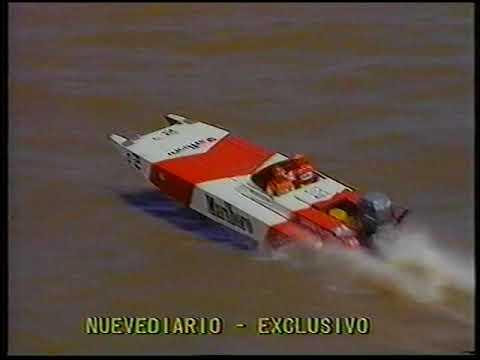Campeonato Mundial Offshore 2Lts 1990   3era Regata   Argentina   Nuevediario
