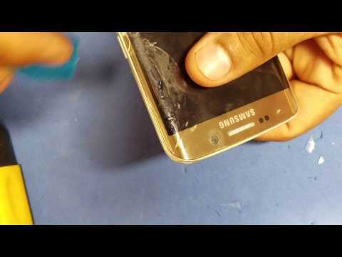 Galaxy s6 edge glass removal only