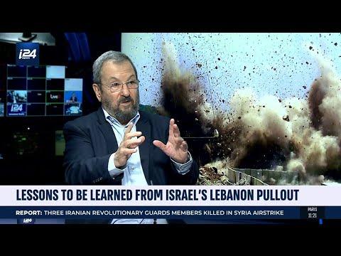 Former Israeli PM Ehud Barak Looks Back At Israel Withdrawal From Lebanon