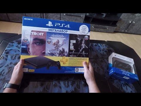 PS4 Slim распаковка. Что в комплекте? Лайфхак для автолюбителей, антирадар.