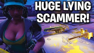 Scammer juste continué à mentir et à mentir! 😂🤣 (Scammer Get Scammed) Fortnite Save The World