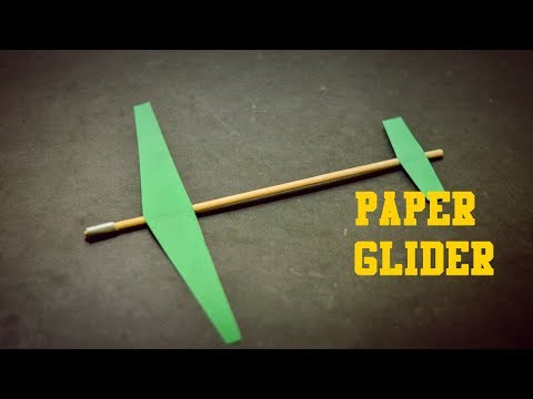 Diy Paper Glider::How to make a paper glider |Easy Crafts|