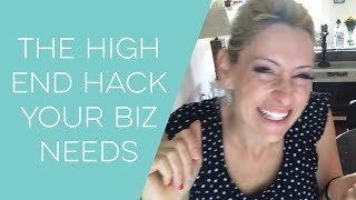 The one hack to going high end - how to start a craft business, jewelry, cards, crochet and more