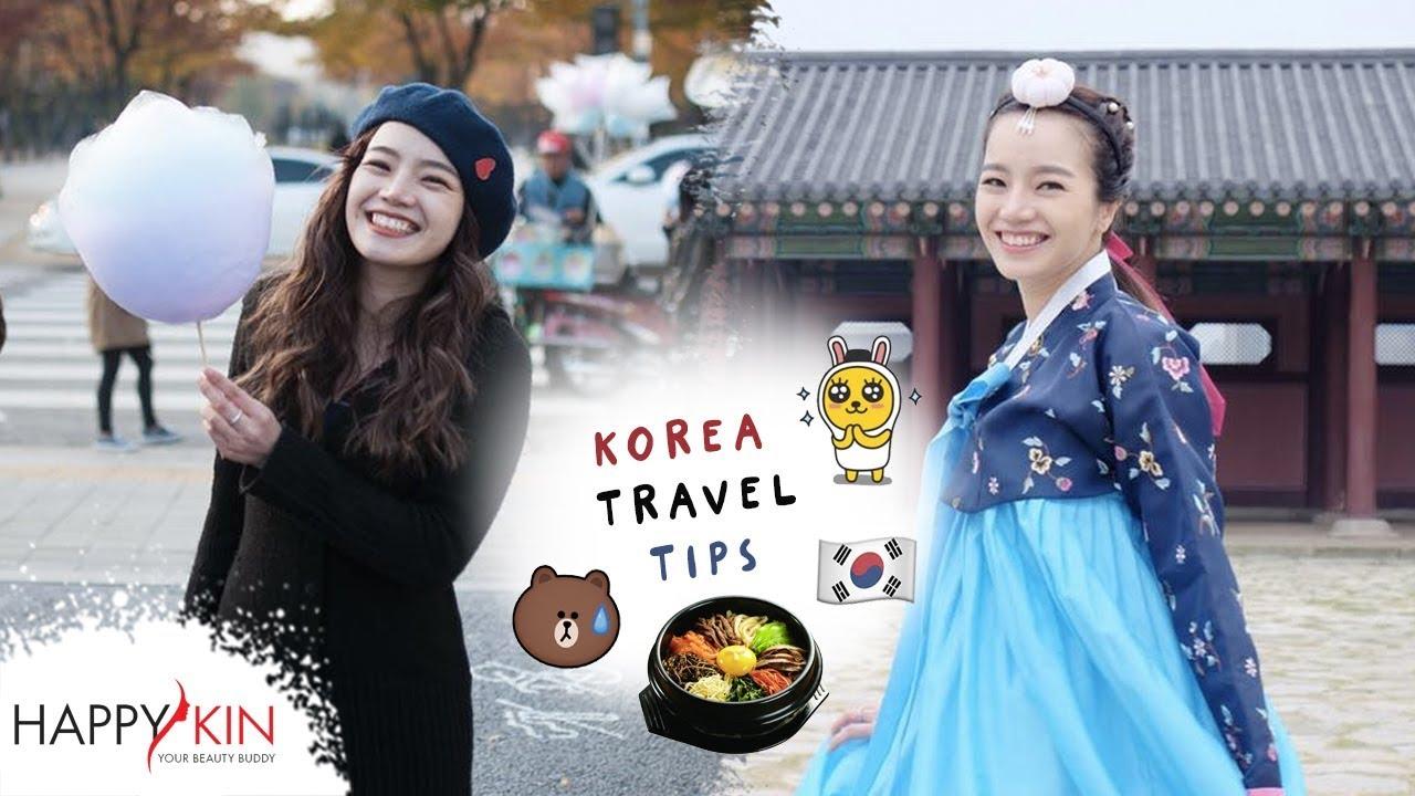 Đi Du Lịch Hàn Quốc Bạn Nhất Định Phải Biết Những Điều Này!! | Happy Skin