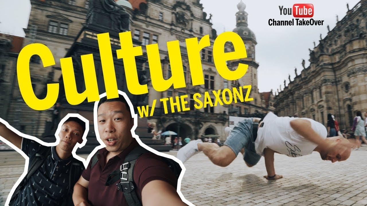 Dresden like a local... Culture-Vlog w/THE SAXONZ - Shawne & Shawn Channel TakeOver