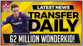 MOURINHO Chases 62 Million WonderKid? Manchester United Transfer News