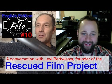 The Rescued Film Project - a conversation with Levi Bettwieser. #filmisnotdead