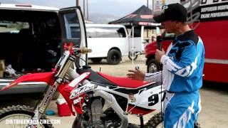 Ride Engineering 2013 CRF450 Improvements-Dirtbike Magazine Ride Day