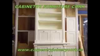 Cabinetry Furniture Cork   Jonathan Evans Carpentry Joinery   Tel: 086-2604787   Vid-001